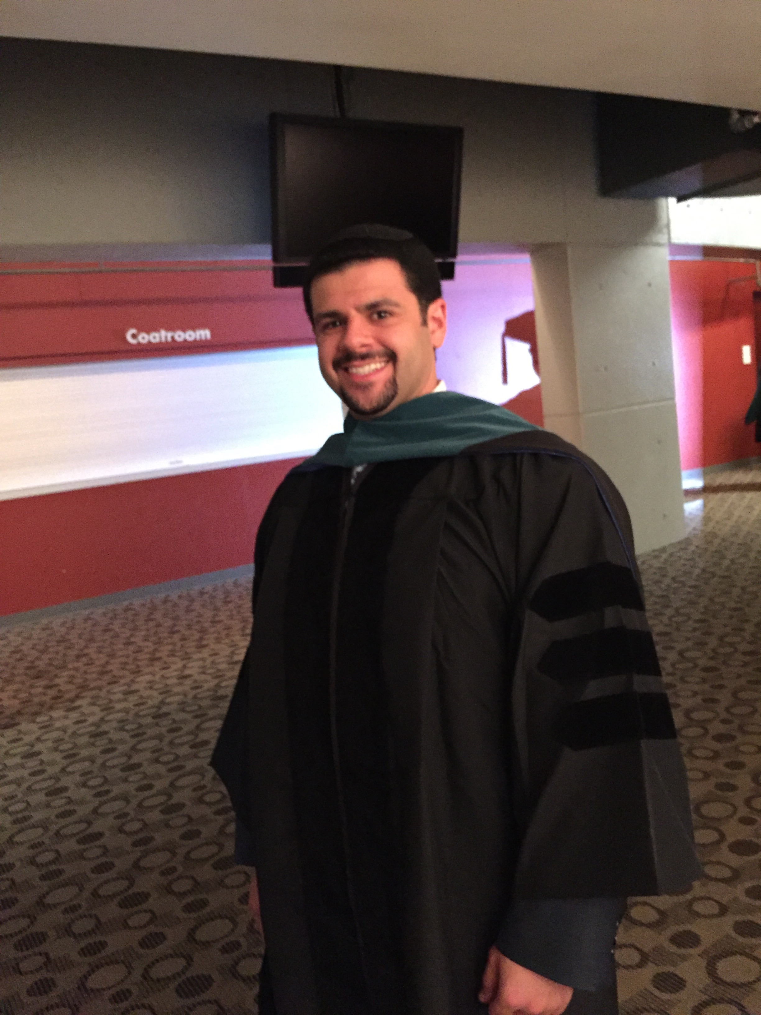 Daniel Friedman, class of 2016, graduate of the School of Health Sciences Doctor of Physical Therapy Program