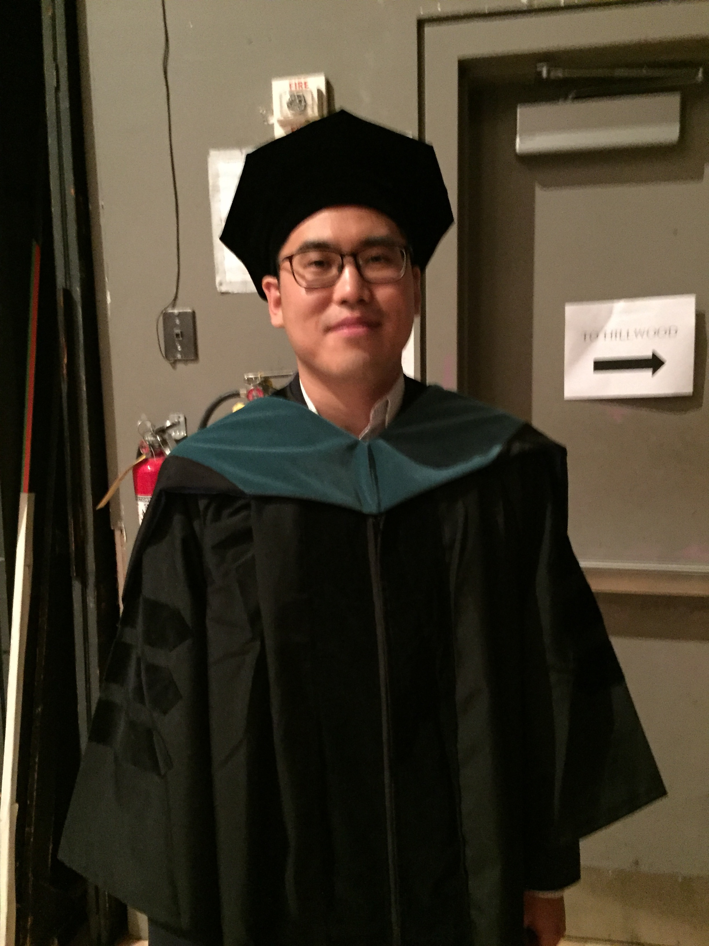 Joshua Park, class of 2016, graduate of the School of Health Sciences Doctor of Physical Therapy Program