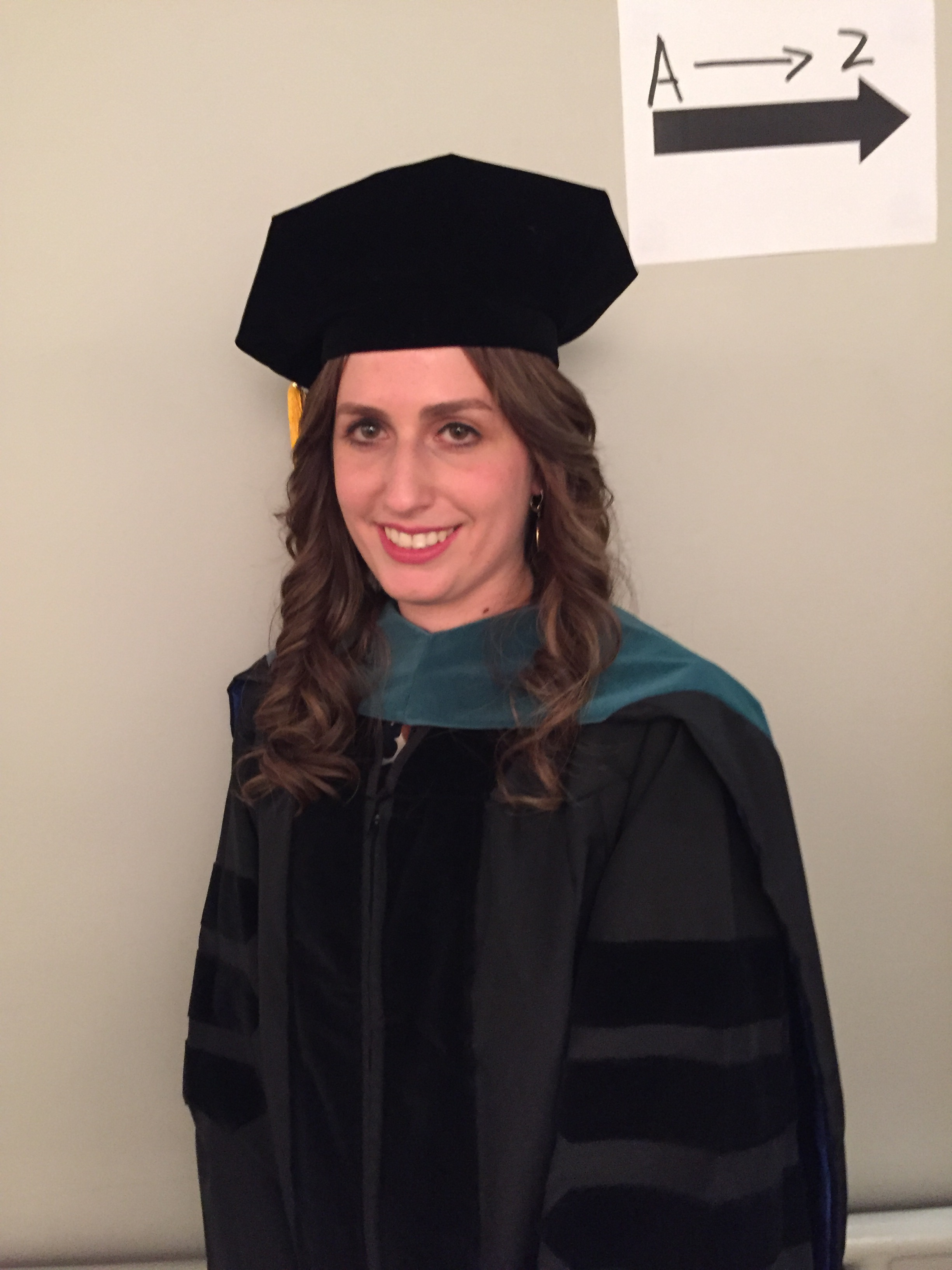 Lea Krasnow, class of 2016, graduate of the School of Health Sciences Doctor of Physical Therapy Program