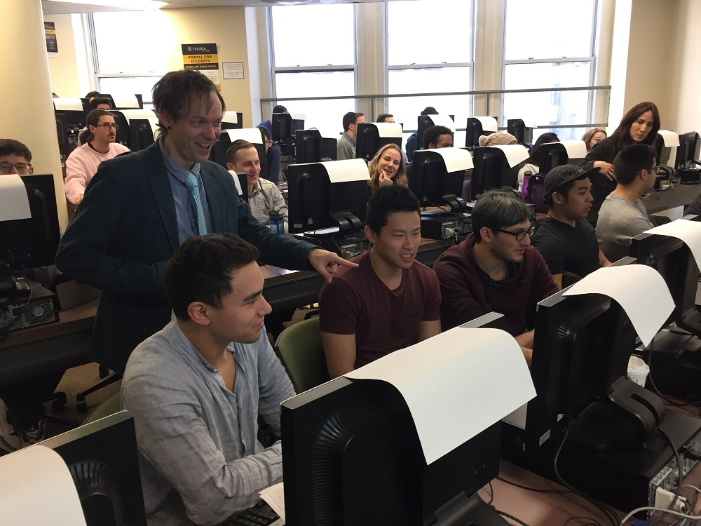 For the third year in a row, students in SHS DPT program edited medical Wikipedia entries with Lane Rasberry, Wikipedien in Residence at Consumer Reports.