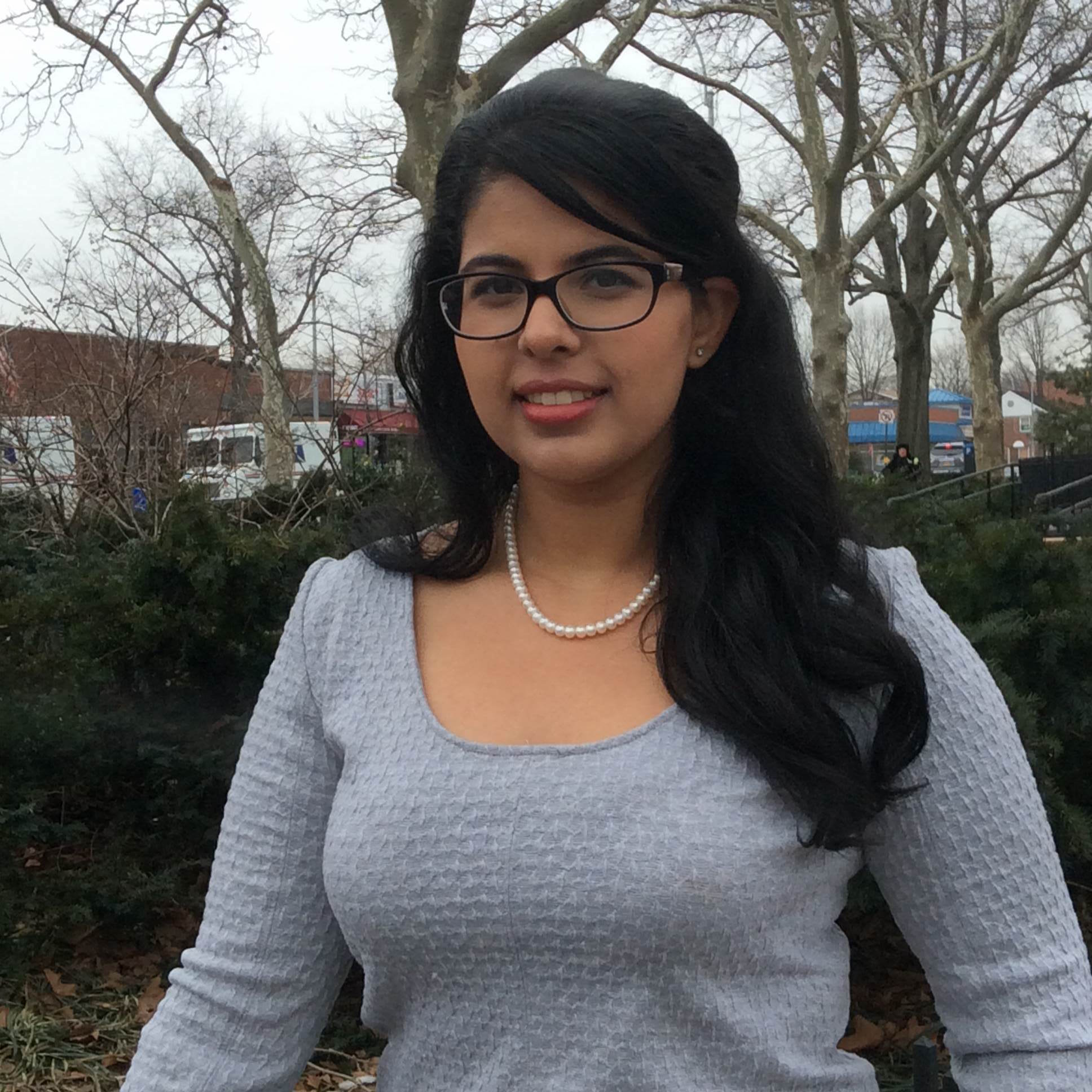 DPT '17 candidate Amarinder Parmar volunteered at Gallop NYC for her community service requirement.